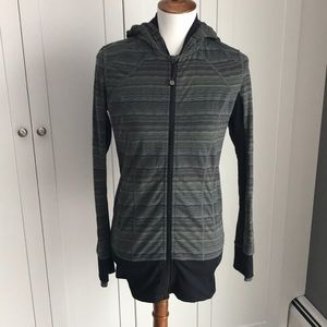 Lululemon sweatshirt/jacket with hood. Size 8